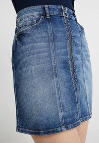 edc by Esprit - MINSKIRT - Denim skirt - blue medium wash - 3