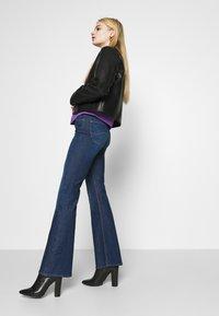 Lee - BREESE - Flared jeans - dark garner - 3