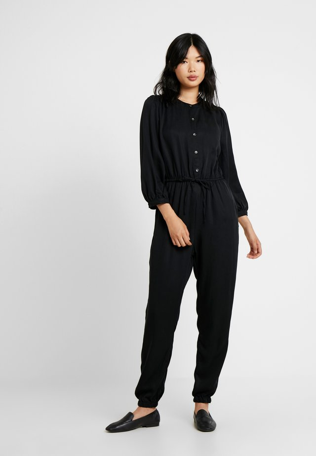 JOGGER - Jumpsuit - true black