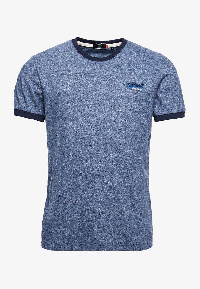 ORANGE LABEL - T-shirts basic - vintage deep blue grit