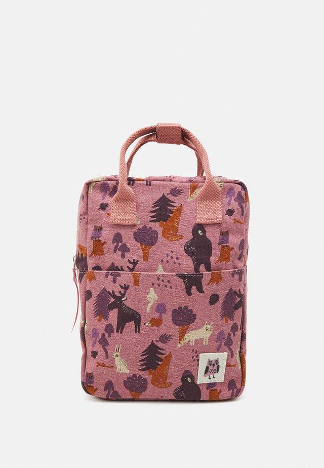 BACKPACK MINI PILE POCKET UNISEX - Zaino - pink