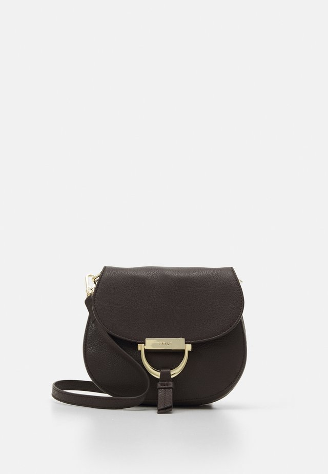 TEMI SMALL - Borsa a tracolla - dark brown