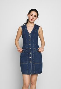 Neuw - ETTA DRESS - Denim dress - dark-blue denim - 0
