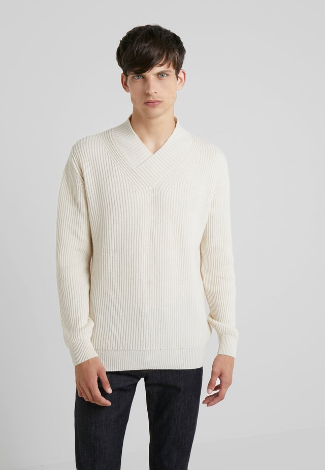 Sweter - antique white