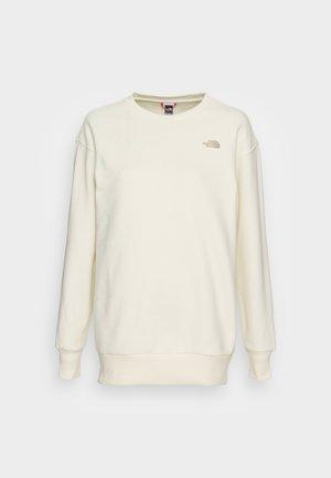 CITY STANDARD CREW - Sweater - gardenia white