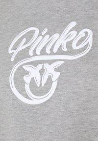 Pinko - BUFFY FELPA - Sweatshirt - grigio pioggerlla - 5