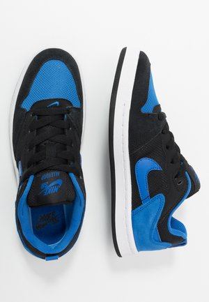 ALLEYOOP UNISEX - Baskets basses - black/royal blue