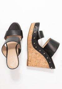 ALDO - LOVIESIEN - Heeled mules - black - 3