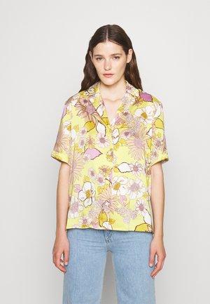 Skjortebluser - jaune/lilas