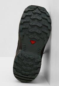 Salomon - XA PRO 3D MID  - Hiking shoes - black/stormy weather/cherry tomato - 5