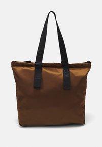BLAUE UNISEX - Tote bag - brown