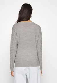 JDY - JDYGADOT - Jumper - light grey melange - 2