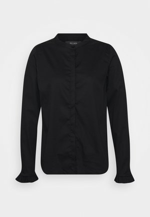 MATTIE  - Button-down blouse - black