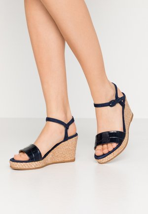 LUPA - Platform sandals - ocean