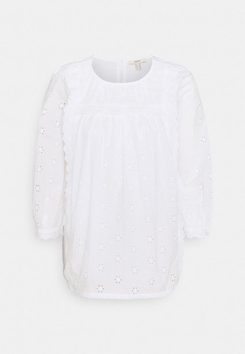 Esprit - BLOUSE - Blouse - white