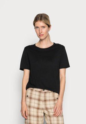 ONE EDIT TEE - Basic T-shirt - black