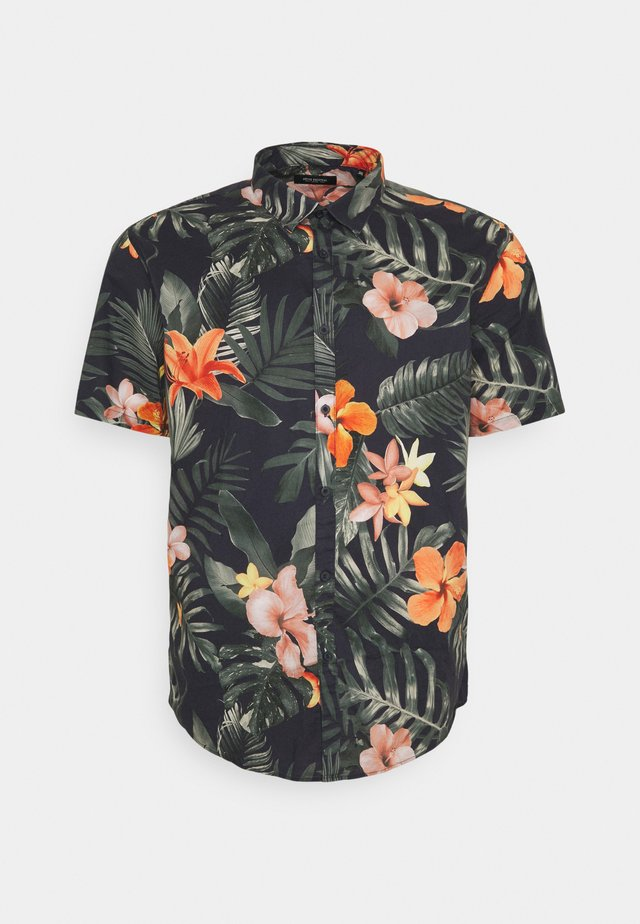 FLORAL HAWAII - Shirt - navy
