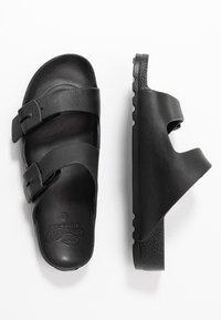 Scholl - BAHIA - Sandalias planas - black - 3