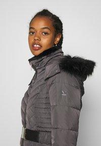 Morgan - GIRO - Abrigo de plumas - gris anthracite - 5