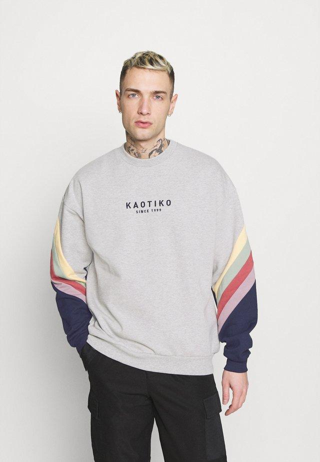 CREW WALKER UNISEX - Sweatshirt - gris
