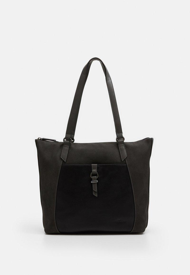 TOM TAILOR - LONE - Handbag - dark grey