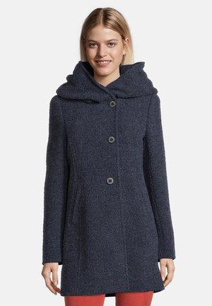 Winter coat - moonlight blue melange