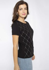 LIU JO - Print T-shirt - black - 2