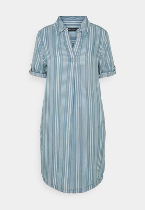 COLLARED - Vestido informal - blue