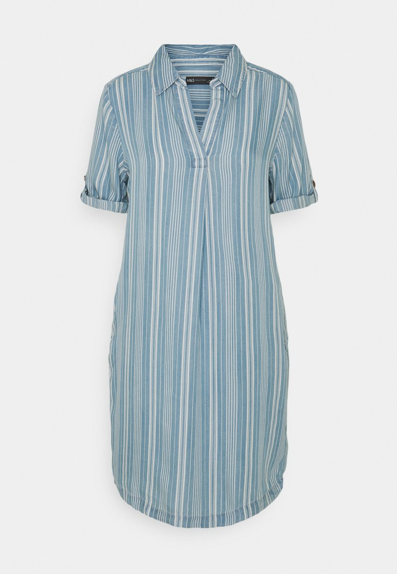 Marks & Spencer London - COLLARED - Day dress - blue