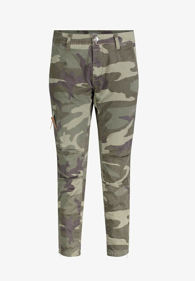 RICH - Trousers - olive