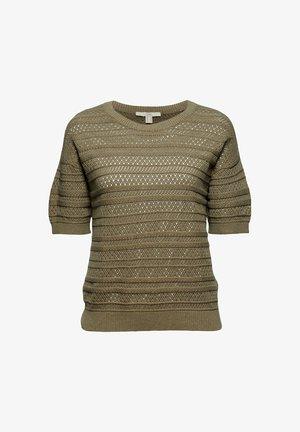 FASHION  - Print T-shirt - light khaki