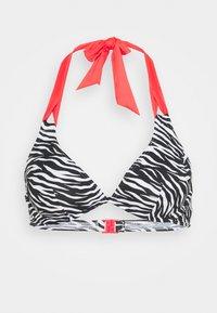 Esprit - PEKA BEACH FLEXIWIRE - Bikini top - black - 3