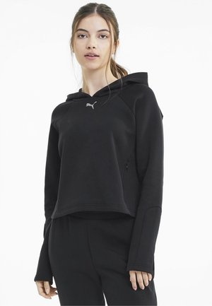 EVOSTRIPE - Sweat à capuche - puma black