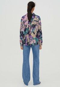PULL&BEAR - Button-down blouse - purple - 2