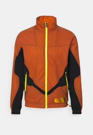 TRACK JACKET - Kurtka sportowa - monarch/black/yellow