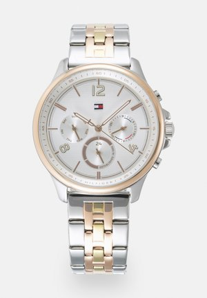 HARPER - Kronografklokke - silver-coloured/white