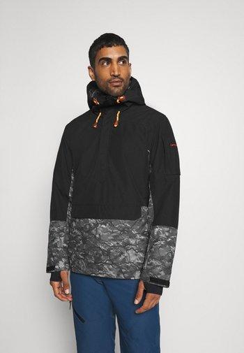 CARNAC - Lyžařská bunda - black