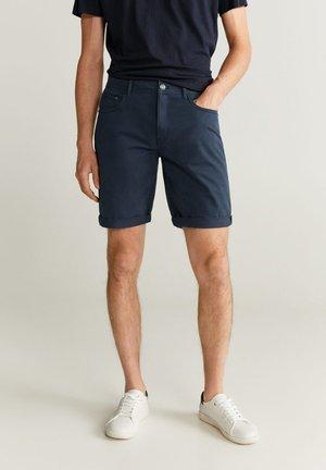 MIKONOSH - Short en jean - dark navy blue