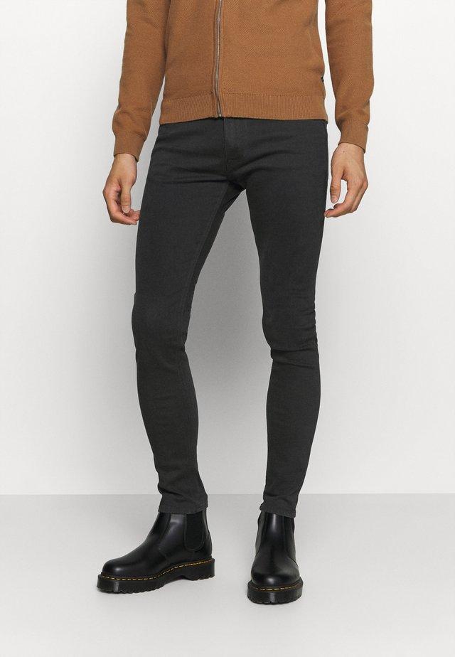 MAX TITANIUM - Slim fit jeans - black