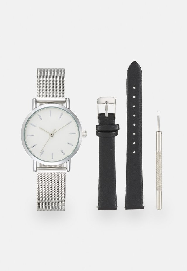SET - Montre - silver/black