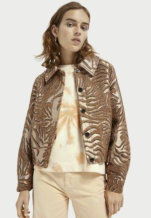 JACQUARD - Light jacket - combo a
