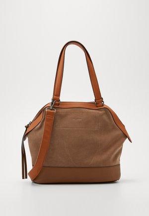 POUND - Shopping bag - light brown