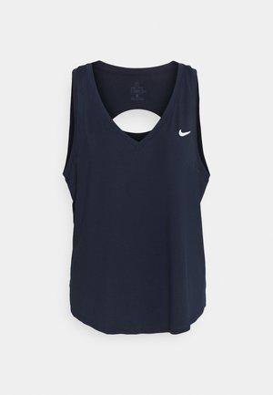 VICTORY TANK PLUS - Camiseta de deporte - obsidian/white/white