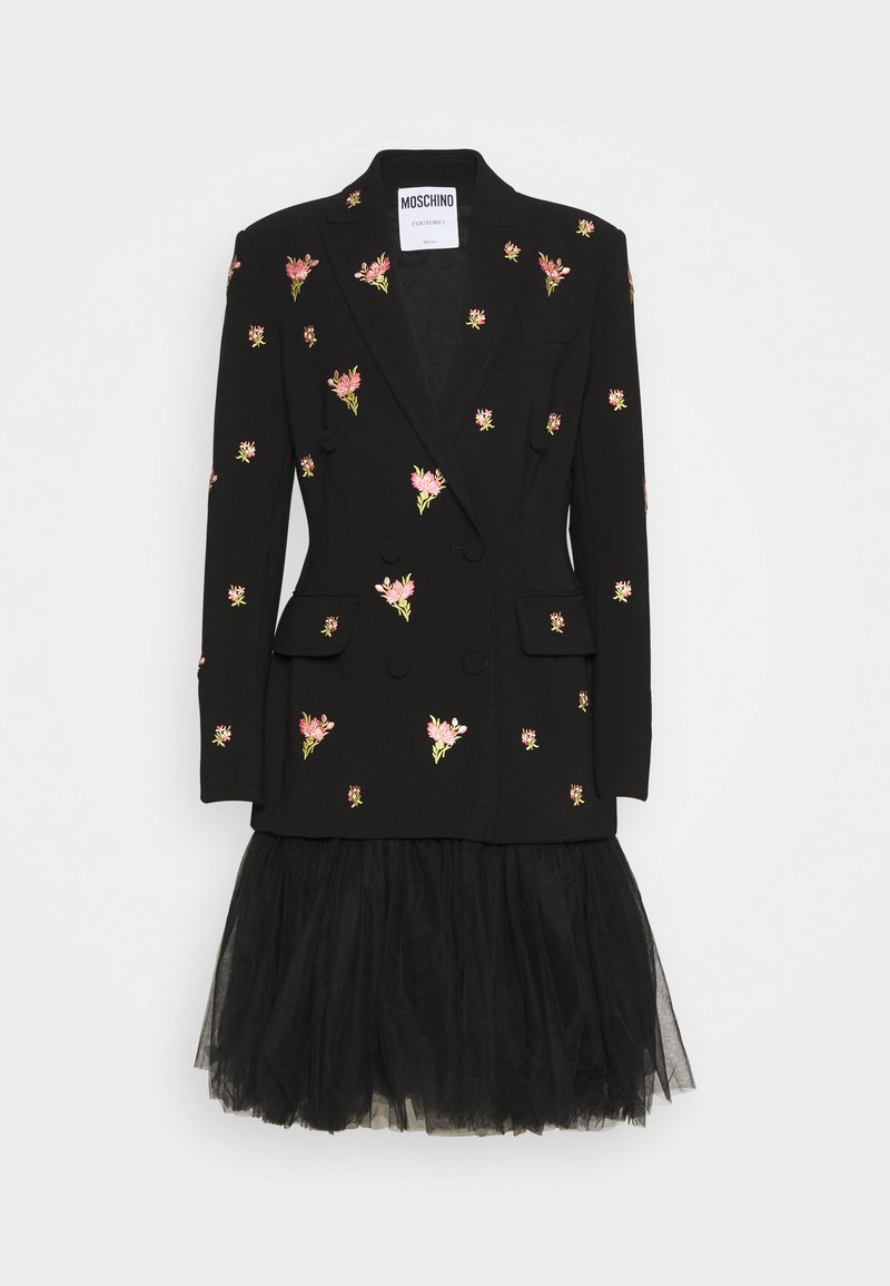 MOSCHINO - DRESS - Vestido de cóctel - black