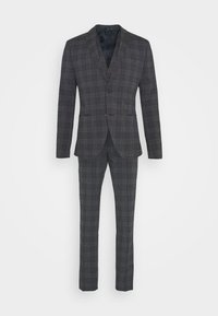 Isaac Dewhirst - BOLD CHECK 3PCS SUIT - Suit - dark blue - 15