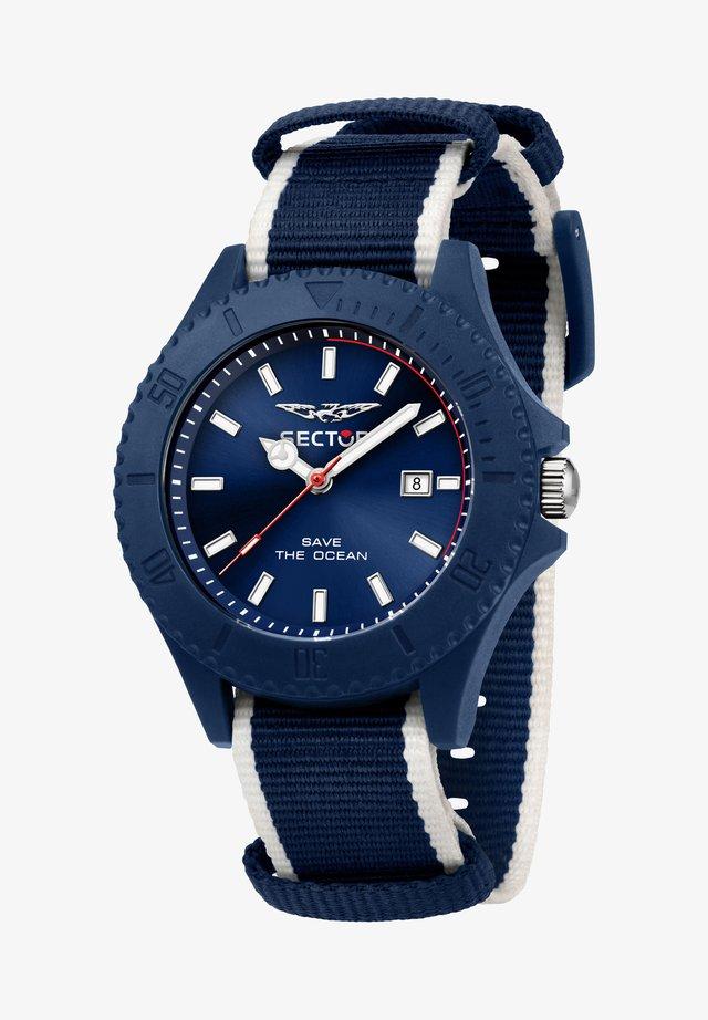 SAVE THE OCEAN  - Orologio - blue