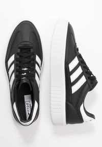 adidas Originals - SLEEK SUPER 72 - Sneakers - core black/footwear white/crystal white - 3
