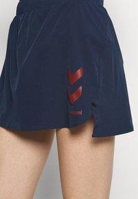 Hummel - PRO GAME SKORT WOMAN - Sports skirt - black iris - 4