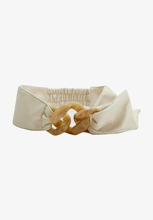 MIT KETTENVERSCHLUSS - Waist belt - white