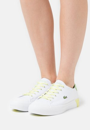 GRIPSHOT  - Baskets basses - white/light yellow